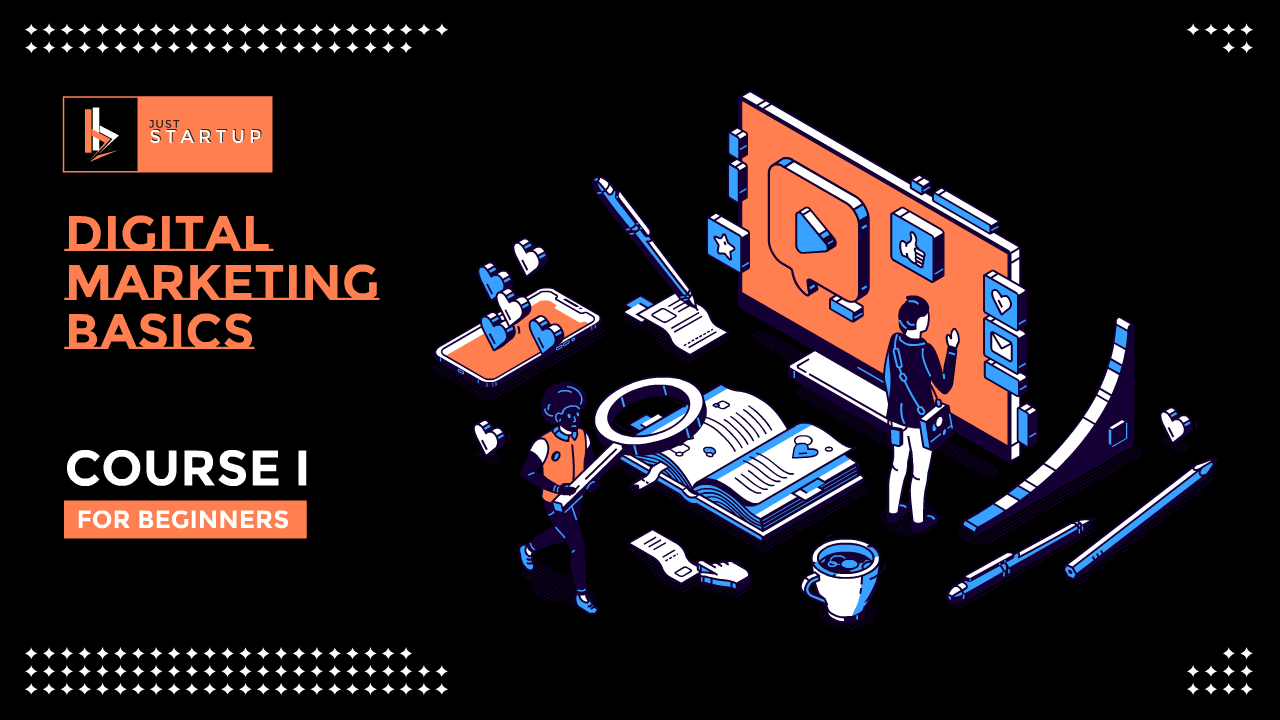 COURSE 1 - Digital Marketing Basics for Beginners - THUMBNAIL